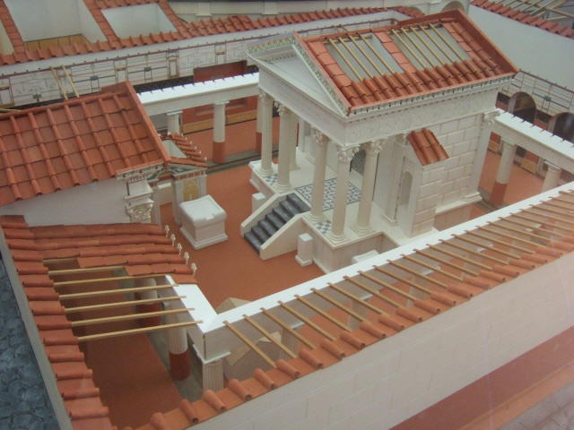 Modell Isis-Tempel