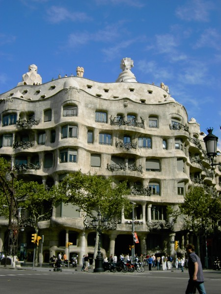 Gaudi-Architektur in Barcelona