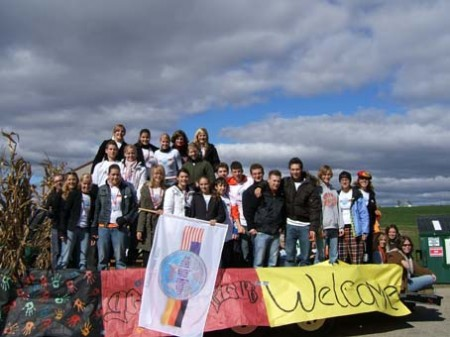 Welcome zur Homecoming-Parade