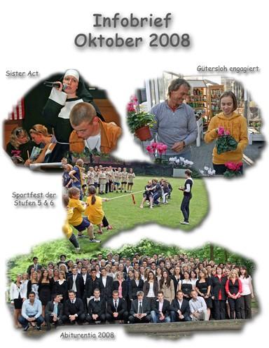 Titelbild des Infobriefes Oktober 2008