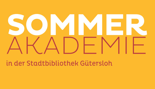 Sommerakademie in der Stadtbibliothek Gütersloh
