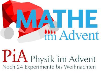 Besondere Adventskalender: Mathe und Physik im Advent