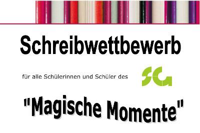 Schreibwettbewerb: Magische Momente